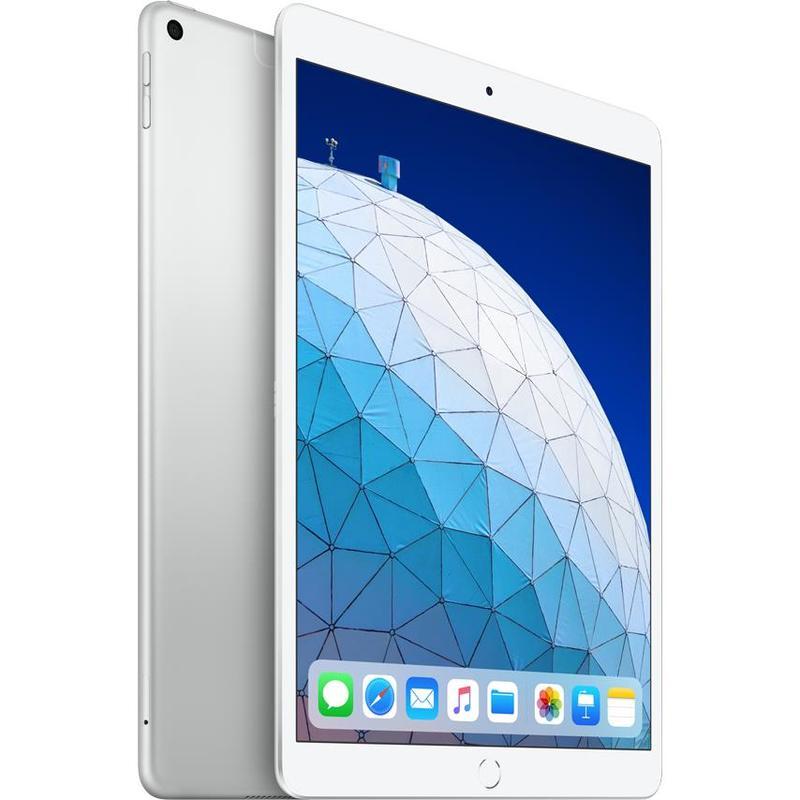 Apple iPad Air 10.5 inch Wi-Fi + Cellular 256GB - Silver (3rd Gen) -  10.5' Retina Display, iOS 12, A12 Bionoc Chip, 8MP Camera, Wi-Fi + Cellular