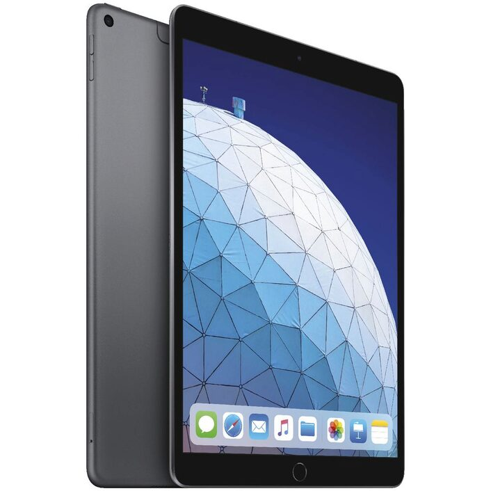 Apple iPad Air 10.5 inch Wi-Fi + Cellular 64GB - Space Grey (3rd Gen) - 10.5' Retina Display, iOS 12, A12 Bionic Chip, 8MP Camera, Wi-Fi + Cellular