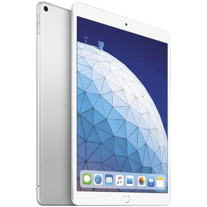 Apple iPad Air 10.5 inch Wi-Fi + Cellular 64GB - Silver (3rd Gen) - 10.5' Retina Display, iOS 12, A12 Bionic Chip, 8MP Camera, Wi-Fi + Cellular