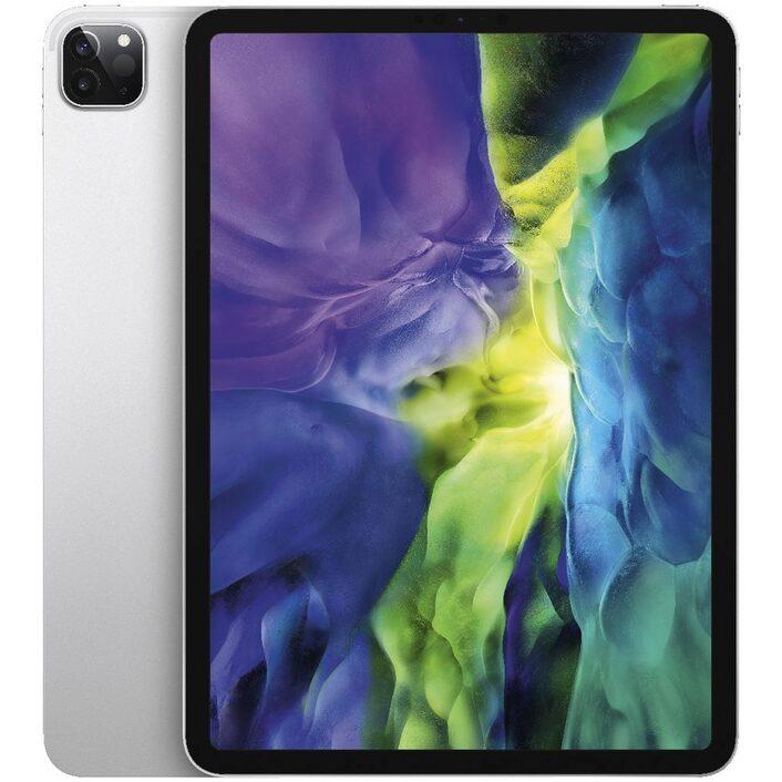 Apple iPad Pro 11 inch (2nd Gen) Wi-Fi+ Cellular 128GB Silver-  iPad with 11' Retina Display, iOS 13, A12Z Bionic chip, 128GB inbuilt mem, Dual Camera