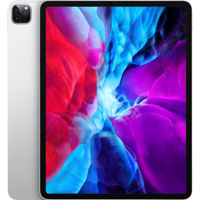 Apple iPad Pro 12.9 inch (4th Gen) Wi-Fi 256GB Silver  iPad with 12.9' Retina Display, iOS 13, A12Z Bionic chip, 256GB inbuilt memory, Dual Camera