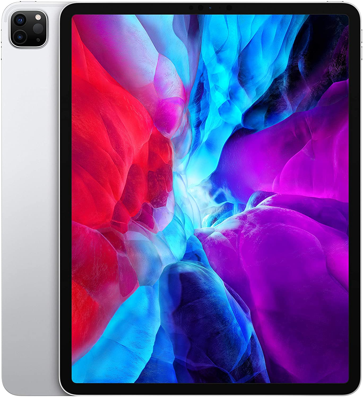 Apple iPad Pro 12.9 inch (4th Gen) Wi-Fi 512GB - Silver -  iPad with 12.9' Retina Display, iOS 13, A12Z Bionic chip, 512GB inbuilt memory, Dual Camera