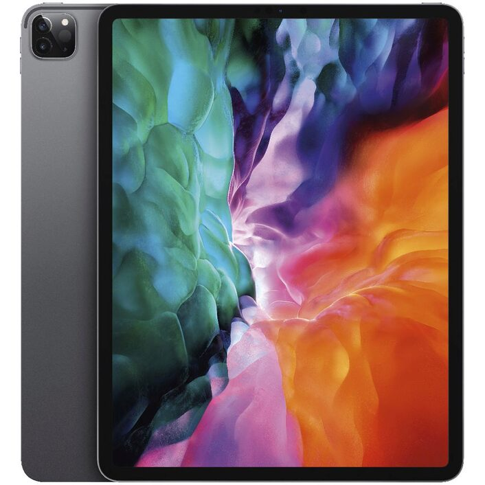 Apple iPad Pro 12.9 inch (4th Gen) Wi-Fi + Cellular 128GB - Space Grey -  iPad with 12.9' Retina Display, iOS 13,  128GB inbuilt memory, Dual Camera