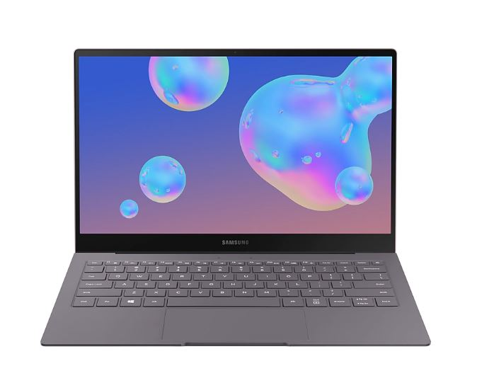 Samsung Galaxy Book S 256GB Mercury Grey - Samsung Book with 13.3' Main Display, Windows 10 Home Octa-Core, 256GB memory exp to 1TB, Wi-Fi + 4G LTE