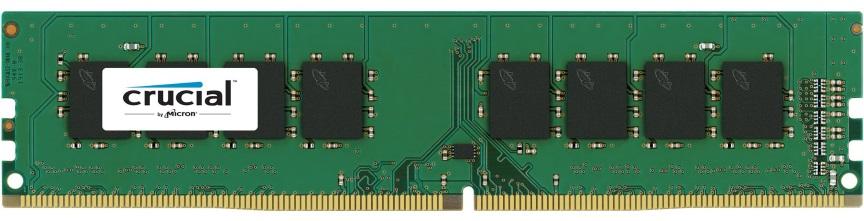 Crucial 4GB (1x4GB) DDR4 UDIMM 2666MHz CL19 1.2V Unbuffered Single Stick Desktop PC Memory RAM