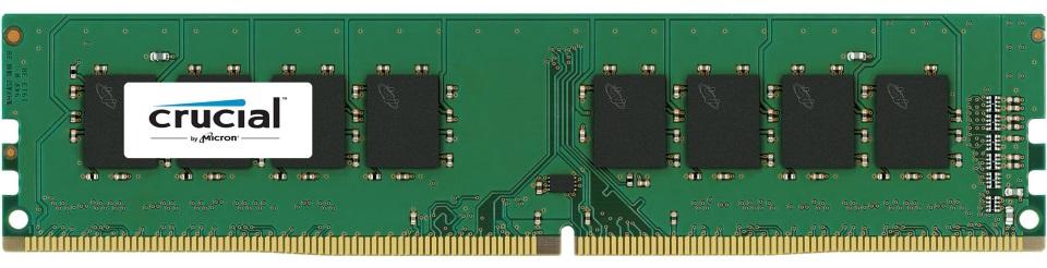 Crucial 8GB (1x8GB) DDR4 UDIMM 2400MHz CL17 Single Stick Desktop PC Memory RAM