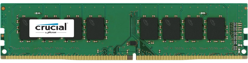 Crucial 8GB (1x8GB) DDR4 UDIMM 2666MHz CL19 Single Stick Desktop PC Memory RAM