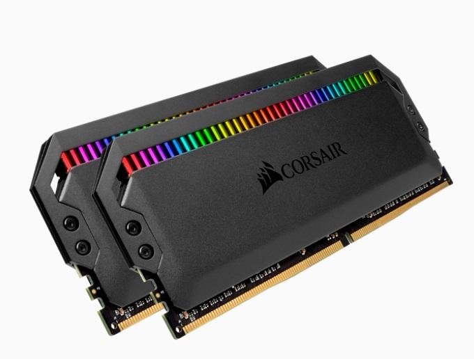 Corsair Dominator Platinum RGB 32GB (2x16GB) DDR4 3200MHz CL14 DIMM Unbuffered 14-14-14-34 XMP 2.0 Black Heatspreader 1.35V Desktop PC Gaming Memory
