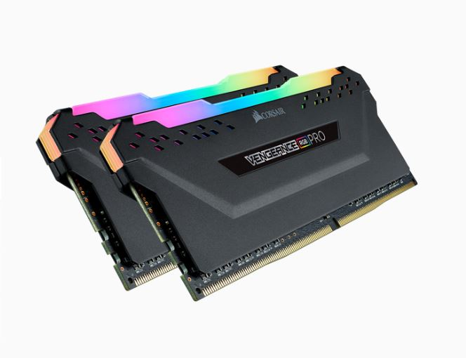 Corsair Vengeance RGB PRO 32GB (2x16GB) DDR4 3200MHz C16 16-18-18-36 Desktop Gaming Memory