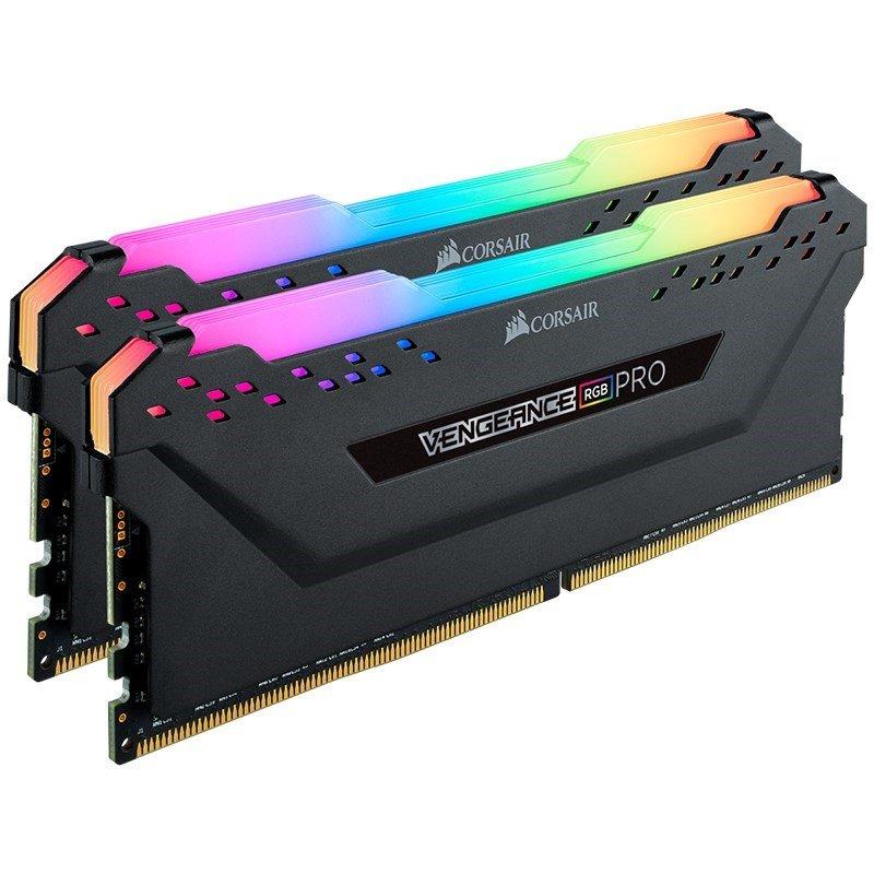 Corsair Vengeance RGB PRO 32GB (2x16GB) DDR4 3600MHz C18 Desktop Gaming Memory