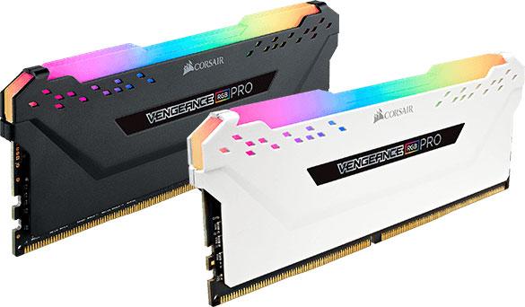 Corsair Vengeance RGB PRO Light Enhancement Kit White - No DRAM Memory  are Meant for Aesthetic Use Only