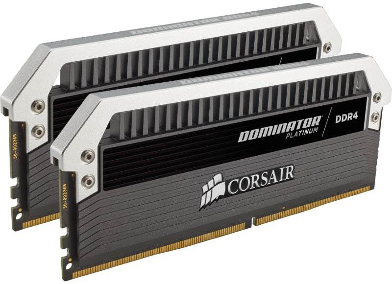 Corsair Dominator Platinum 16GB (2x8GB) DDR4 3200MHz C16 Desktop Gaming Memory