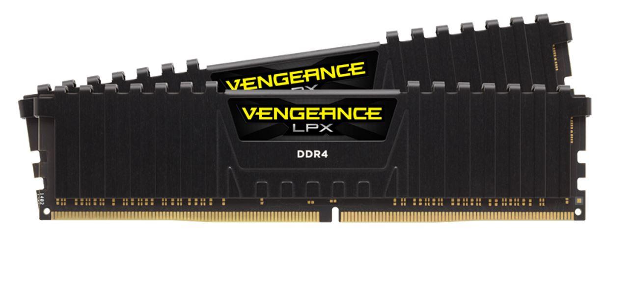 Corsair Vengeance LPX 64GB (2x32GB) DDR4 4000MHz C16 1.35V 18-22-22-42 288Pin Black Aluminum Heat Spreader Desktop Gaming Memory