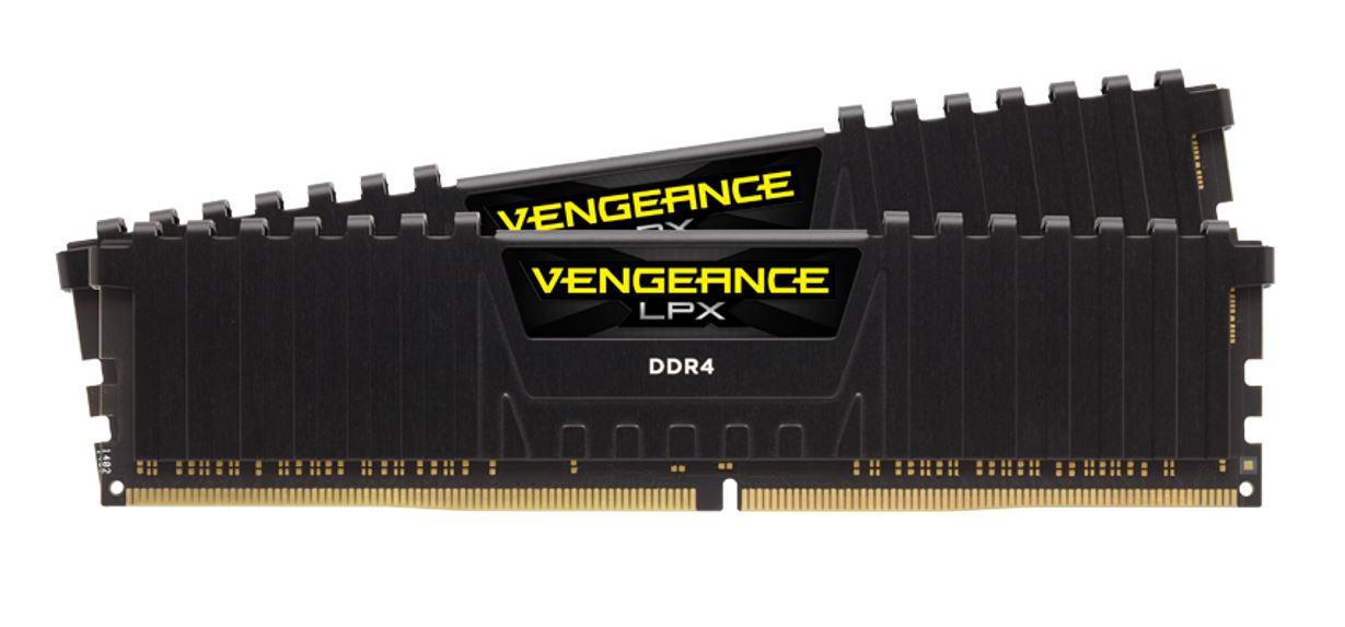Corsair Vengeance LPX16GB (2x 8GB) DDR4 3600MHz C19 DIMM 1.35V Heatspreader Anodized Aluminum