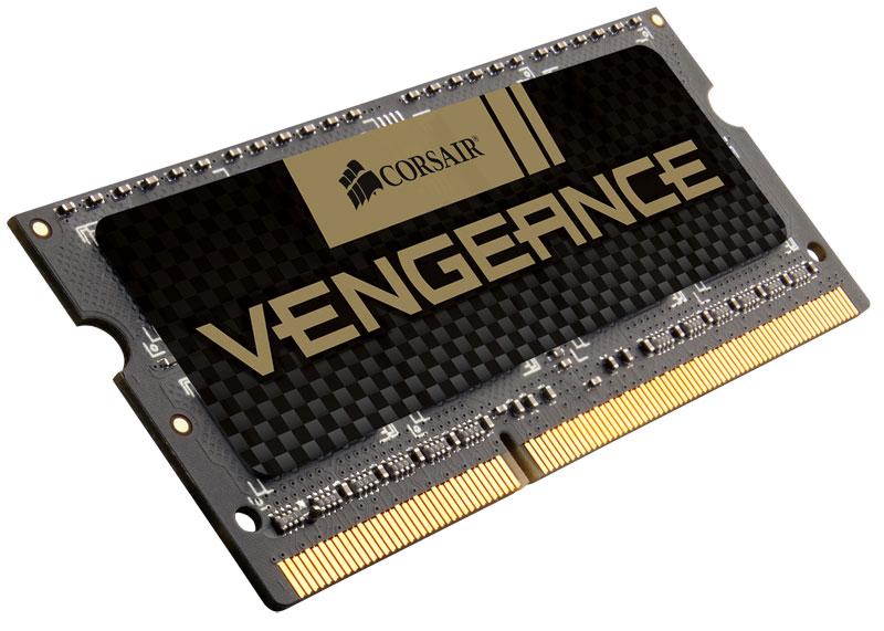 Corsair 4GB (1x4GB) DDR3 SODIMM 1600MHz Vengeance Black 1.5V Notebook Memory RAM
