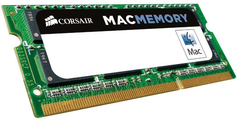 Corsair 4GB (1x4GB) DDR3 SODIMM 1066MHz 1.5V Memory for MAC Notebook Memory RAM