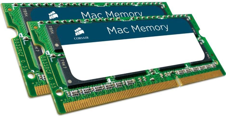 Corsair 16GB (2x8GB) DDR3L SODIMM 1600MHz 1.35V Memory for MAC Notebook Memory RAM