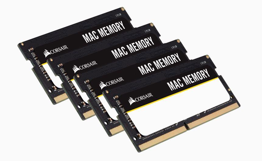 Corsair 64GB (4x16GB) DDR4 SODIMM 2666MHz 1.2V Memory for Mac Memory RAM