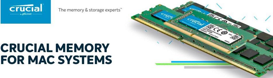 Crucial 4GB (1x4GB) DDR3 SODIMM 1333MHz for MAC 1.35V Single Stick Desktop for Apple Macbook Memory RAM