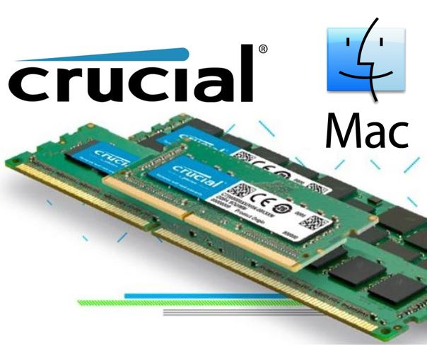 Crucial 4GB (1x4GB) DDR3 SODIMM 1866MHz for MAC 1.35V Single Stick Notebook for Apple Macbook Memory RAM LS