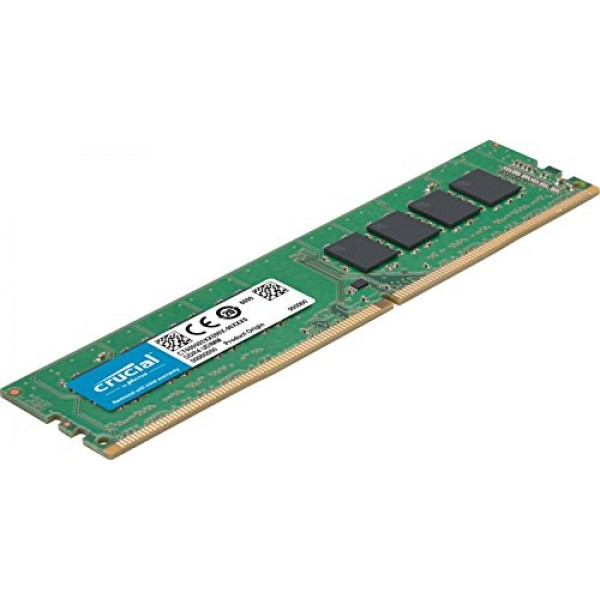 Crucial 16GB (1x16GB) DDR4 UDIMM 3200MHz CL22 1.2V Dual Ranked  x8 Single Stick Desktop PC Memory RAM