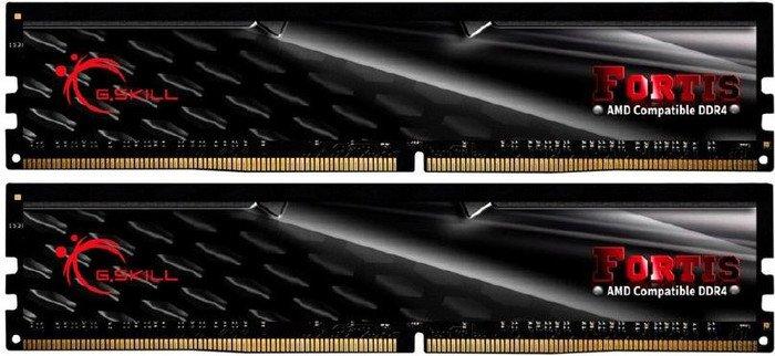 G.SKILL FORTIS 16GB (2x8GB) DDR4 2400Mhz C15 1.2V Gaming Memory AMD Ryzen