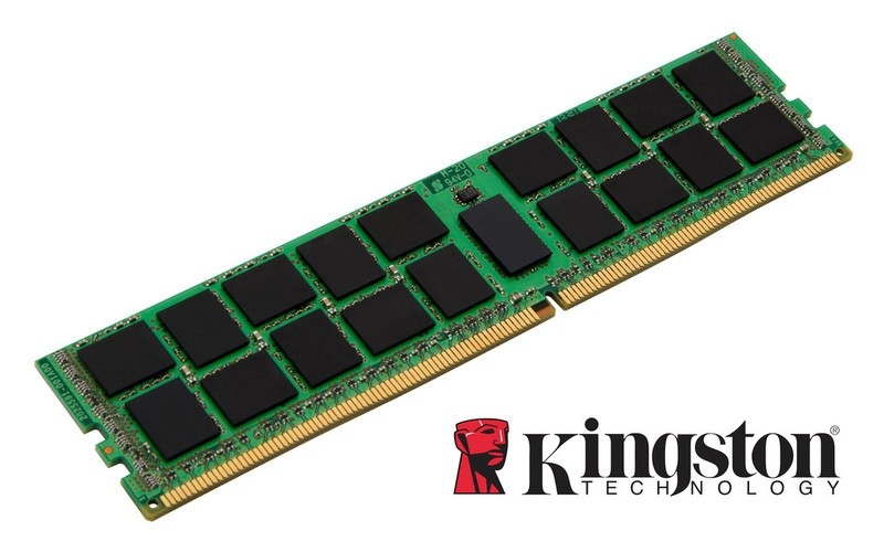 Kingston 16GB (1x16GB) DDR4 RDIMM 2666MHz CL19 1.2V ECC Registered ValueRAM 1Rx4 2G x 72-Bit PC4-2666 Server Memory KSM26RS4/16HAI