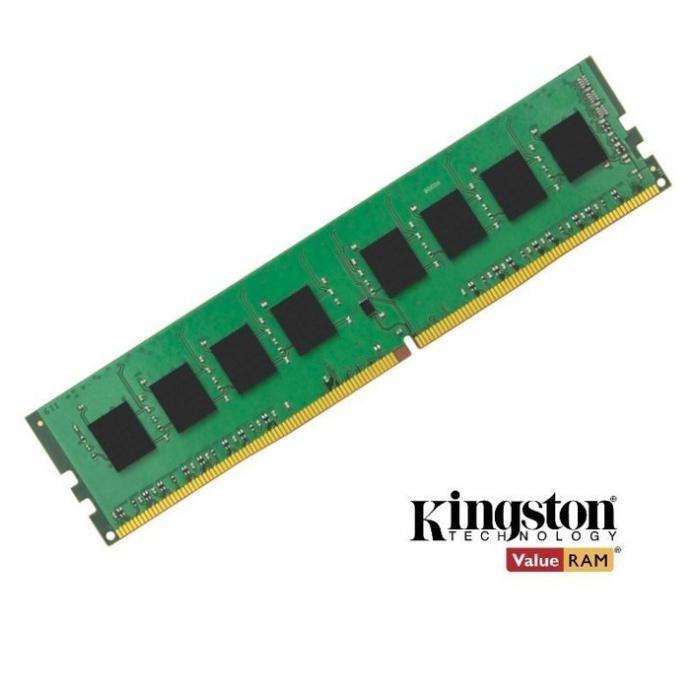 Kingston 4GB (1x4GB) DDR4 UDIMM 2400MHz CL17 1.2V Unbuffered ValueRAM Single Stick Desktop Memory ~KVR24N17S8/4