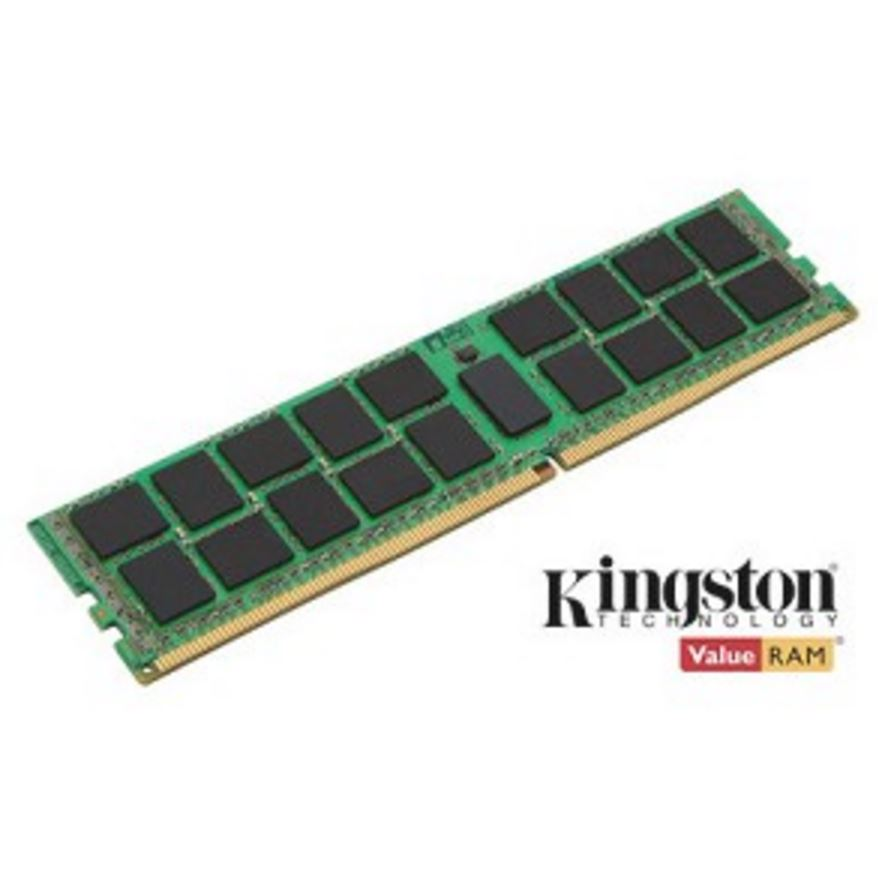 Kingston 16GB (1x16GB) DDR4 RDIMM 2400MHz CL17 1.2V ECC Registered ValueRAM 2Rx8 2Gx72-Bit PC4-2400 Server Memory Intel Certified ~MEKVR24R17D8-16