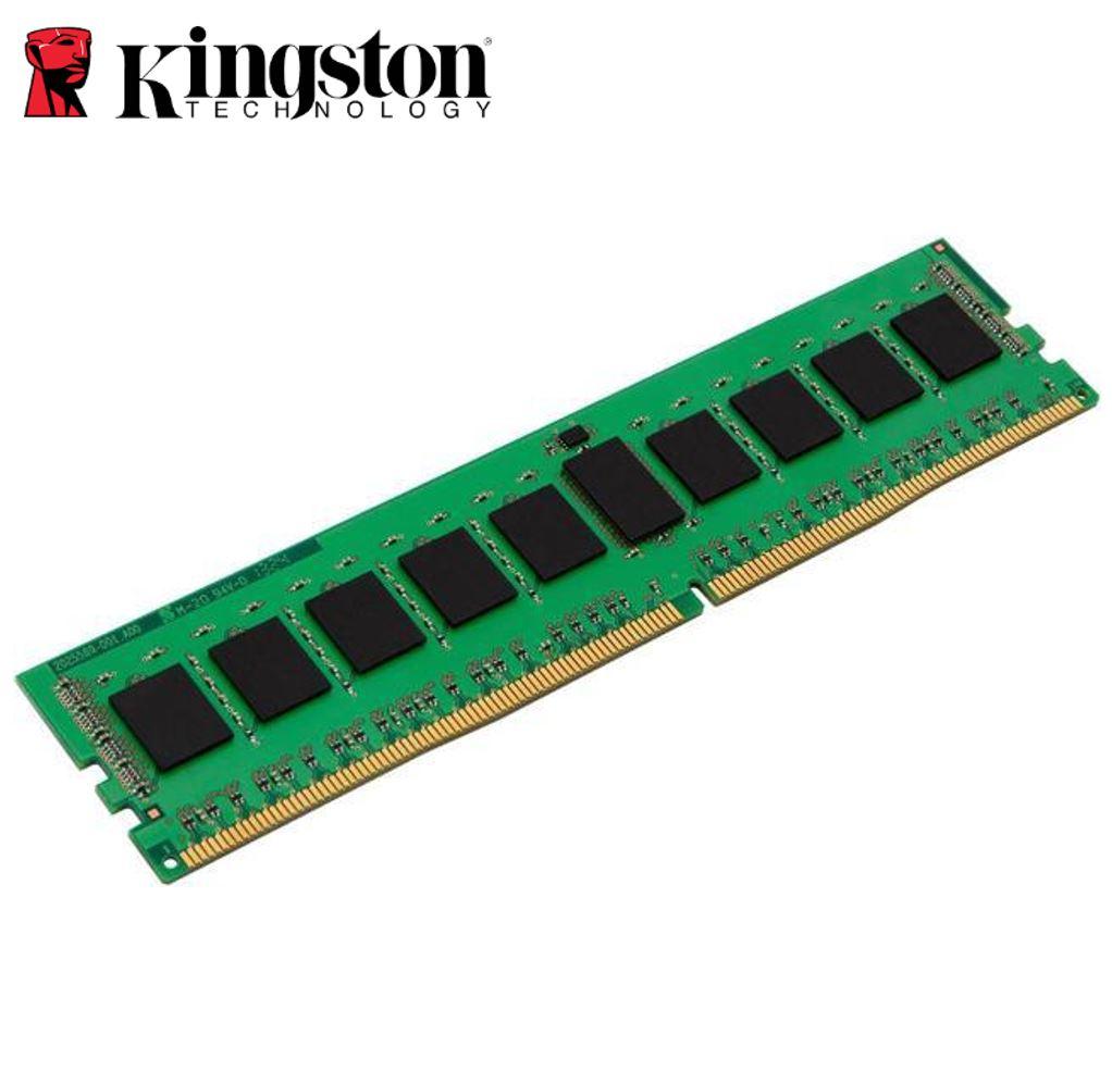 Kingston 16GB (1x16GB) DDR4 UDIMM 2666MHz CL19 1.2V Unbuffered ValueRAM Single Stick Desktop PC Memory