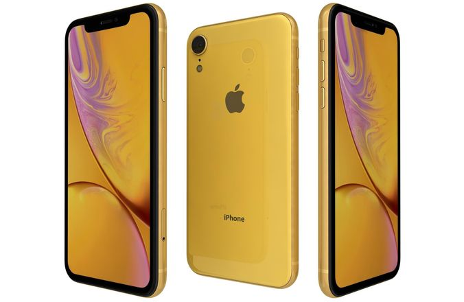 Apple iPhone XR 256GB 4GX Yellow