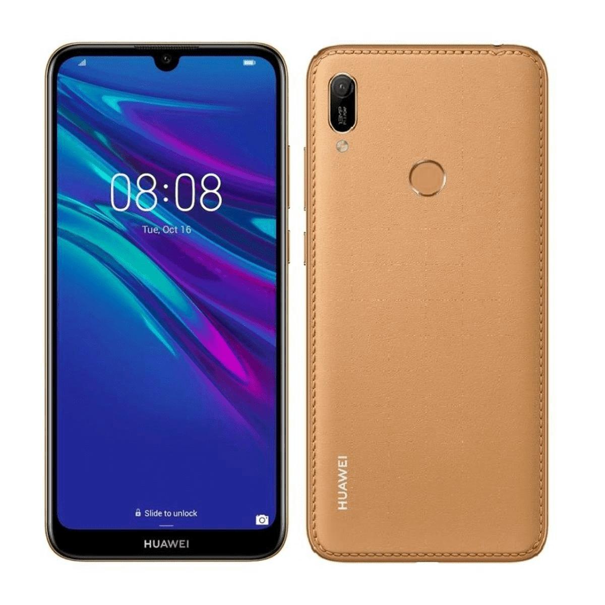Huawei Y5 4G 32GB 2019 Amber Brown - 5.7' Screen Size, Quad Core Processor, 32GB Memory exp to 512GB Via MicroSD Card, Dual Sim, 3020 mAh Battery