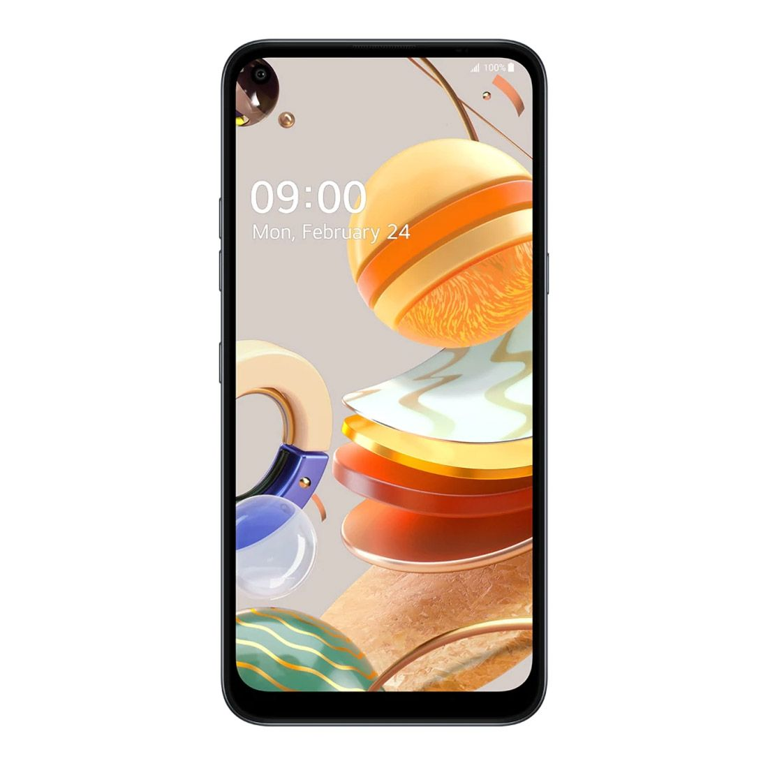 LG K61 Titan Grey - 6.53' HD+ Screen Size, Octa Core Processor, 4GB RAM, 128GB Memory exp to 2TB Via MicroSD, Quad Camera, Dual Sim, 4000 mAh Battery