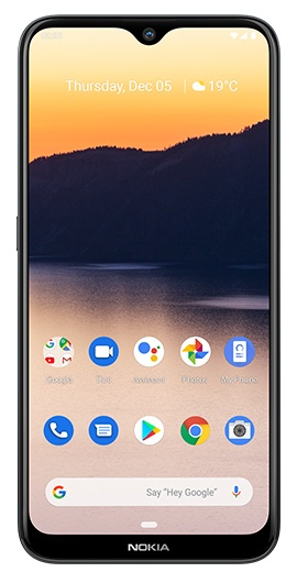 Nokia 2.3 Black 4GX (Locked to Telstra)  -  6.2' HD+ Screen Size, Android 10, 3GB RAM, 32GB Memory exp to 512GB, Dual Camera, 4000 mAh Battery