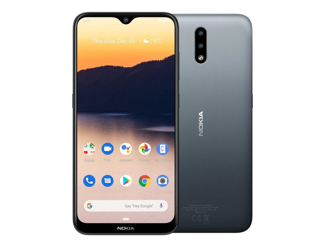 Nokia 2.3 4G 32GB 6.2' Screen Charcoal  - 6.2' Screen, 2GB RAM, Android 9 Pie, 32GB Storage Exp up to 512GB, Dual Camera, 4000mAh battery