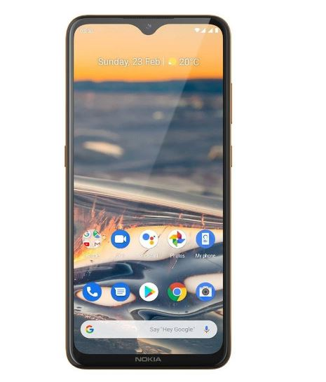 Nokia 5.3 4G Dual Sim 64GB  Screen Sand- 6.55' Screen, 4GB RAM, Android 10,Octa Core / 2.0 GHz / Qualcomm Snapdragon 665, Quad camera,4000 mAh Battery