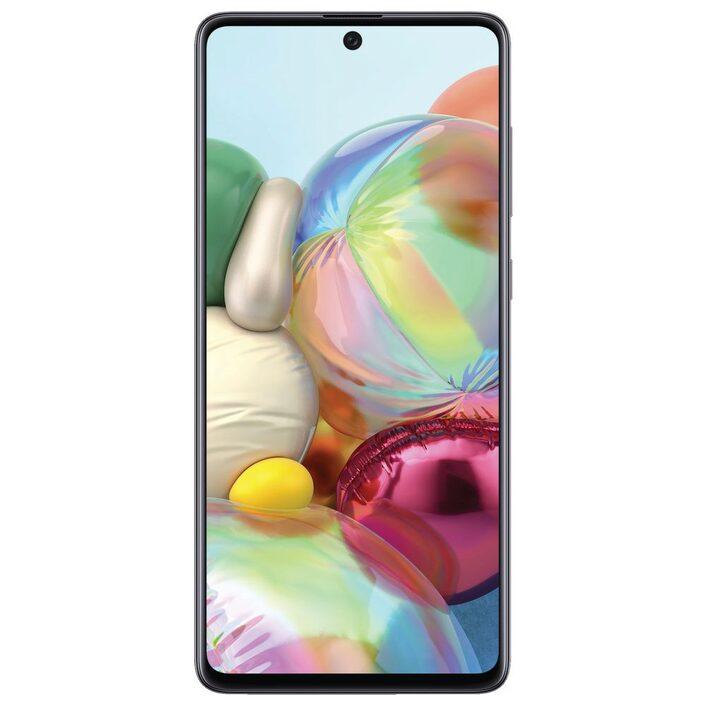 Samsung Galaxy A71 Black  - 6.7' Screen Size, Octa Core Processor, Quad Camera,128GB Inbuilt Memory exp to 512GB Via MicroSD Card