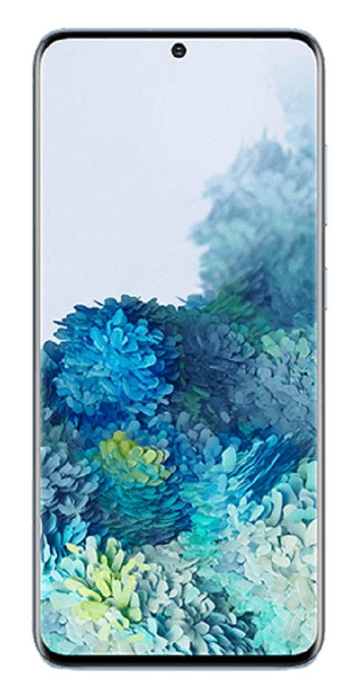Samsung Galaxy S20 128GB Cloud Blue - 6.2' HD+ Screen, Octa Core Processor, 8GB + 128GB Memory exp to 1TB Via MicroSD, Tri Camera, 4000 mAh Battery