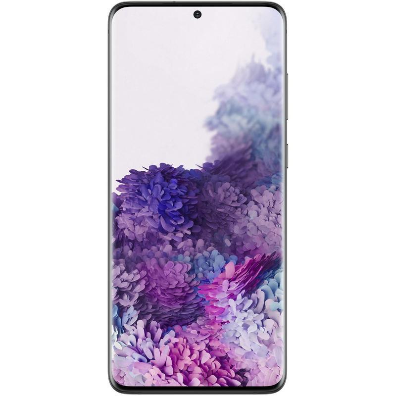Samsung Galaxy S20+ 5G 128GB Cosmic Black-6.7' HD+ Screen, Octa Core Processor, 8GB+128GB Memory exp to 1TB Via MicroSD, Quad Camera, 4500 mAh Battery