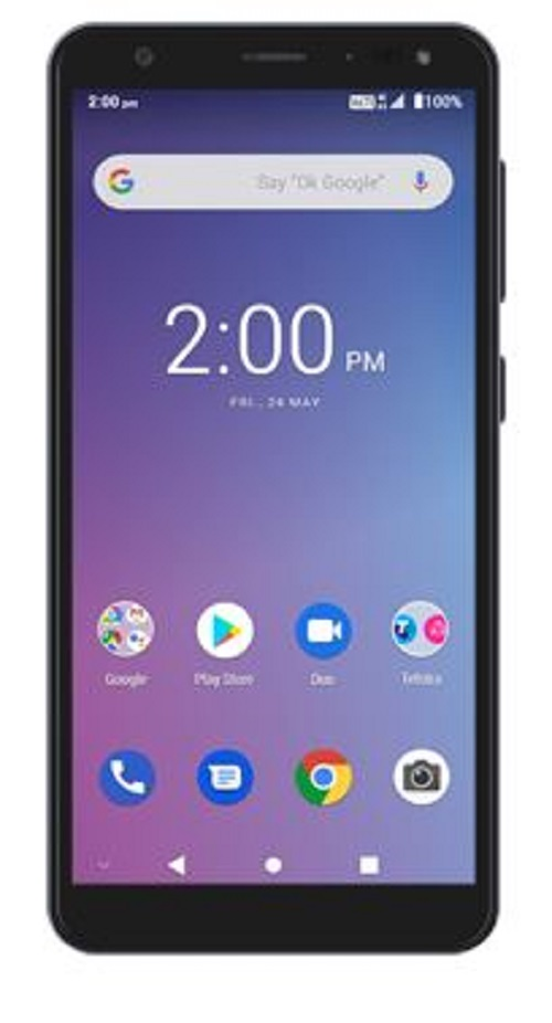 Telstra Essentials Pro (A5) 4G Black- with 5.45 inch crystal clear screen,8MP+5MP camra, Android 9 processor, 2GB RAM, 16GB Memory