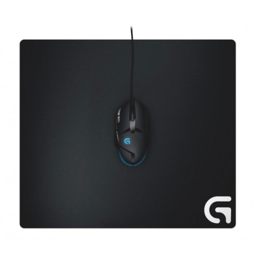 Logitech G640 Large Cloth Gaming Mouse Pad Stable Rubber Base Matched to Logitech Sensors Moderate Surface Friction