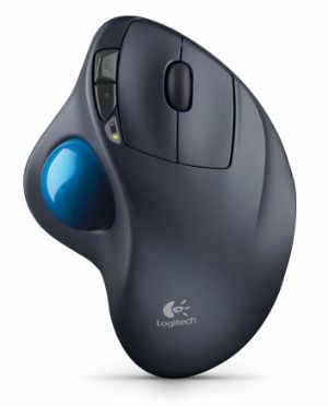 Logitech M570 Wireless Mouse Trackball Comfort Compact Time-tested shape 2.4GHz wireless 18 month battery life(LS)
