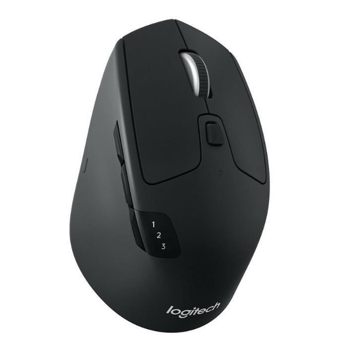 Logitech M720 Triathlon Multi-Device Wireless Bluetooth Mouse with Flow Cross-Computer Control  File Sharing for PC  Mac Easy-Switch up to 3 Devices