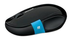 Microsoft Sculpt Comfort Black Bluetooth Mouse