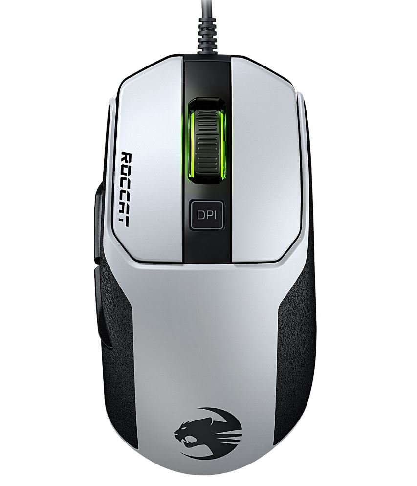Roccat KAIN 102 AIMO RGBA High Performance Gaming Mouse (White Version)(LS)