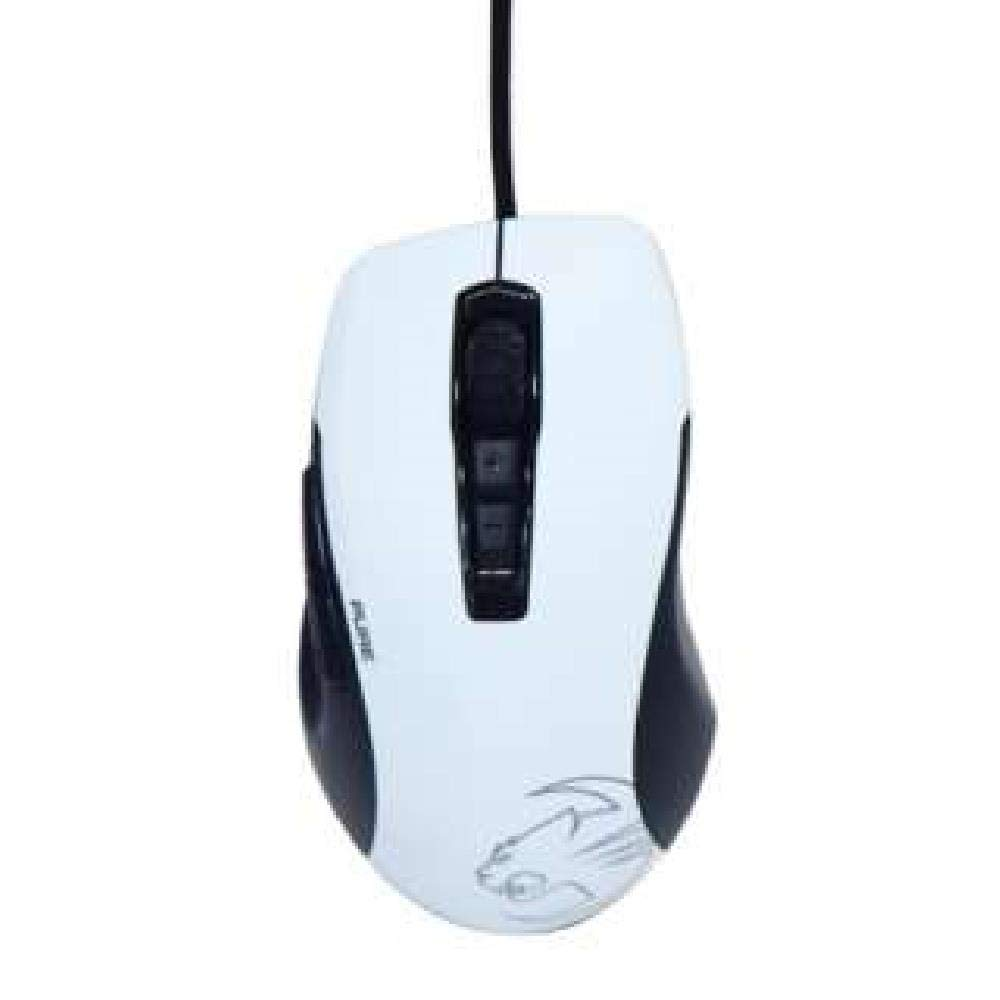 Roccat KONE PURE OWL-EYE Optical RGB Gaming Mouse - Black  White - Customisable illumination, 12000DPI, 512kb on-board memory, 17 functions (LS)