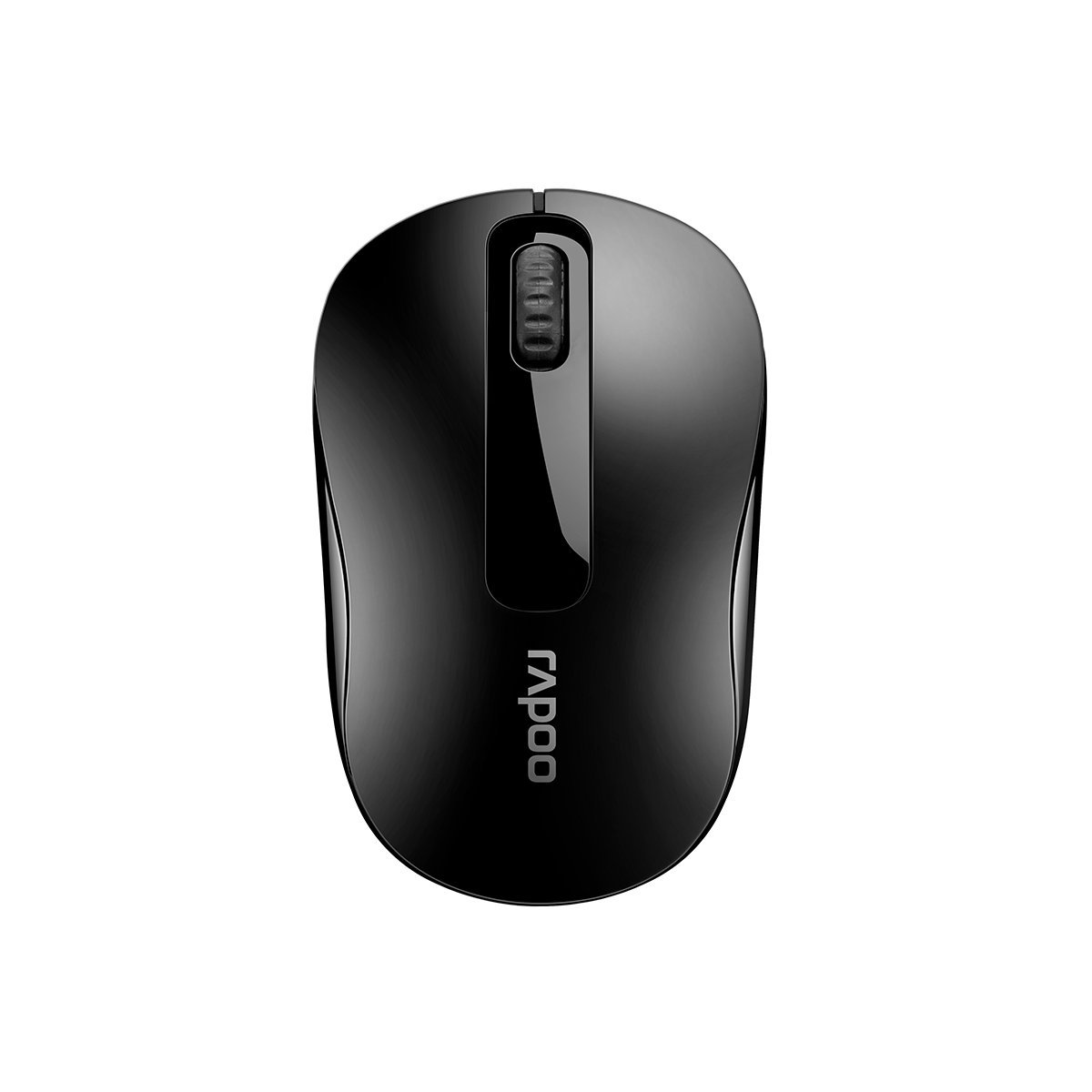 RAPOO M10 PLUS  2.4GHz Wireless Optical Mouse Black - 1000dpi 3Keys