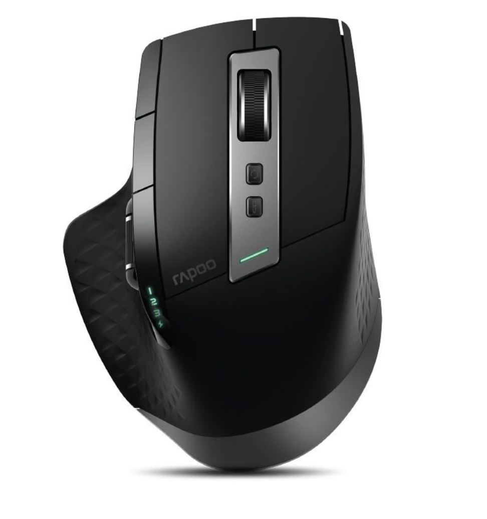 RAPOO MT750S Multi-Mode Bluetooth & 2.4G Wireless Mouse - Upto DPI 3200 Rechargeable Battery