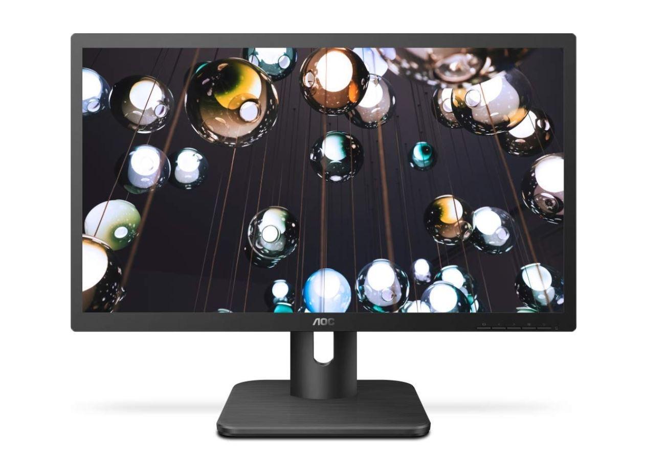 AOC 21.5' 5ms HD 1920 x1080 Monitor, FlickerFree, HDMI/VGA, VESA 75mm, Flicker Free.