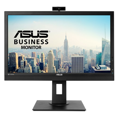 ASUS BE24DQLB 23.8' FHD IPS Video Conferencing Monitor With Integrated Full HD Webcam - Mic Array, Stereo Speakers, Mini-PC Mount Kit